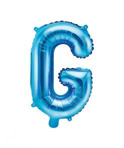 ballon lettre G bleu