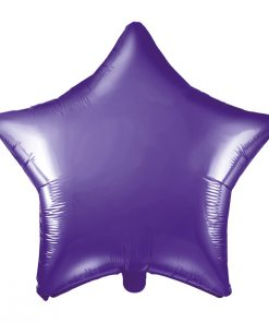 ballon étoile violet