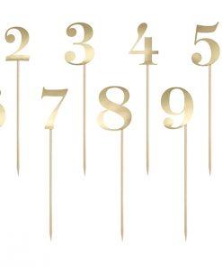 Numéro de table sur pic -orNuméro de table sur pic -or