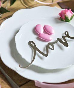décoration de table mariage blanc et argent