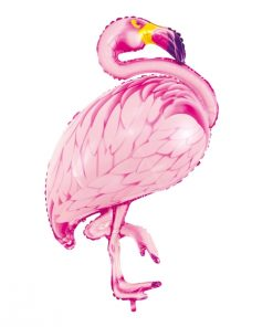 ballon flamant rose