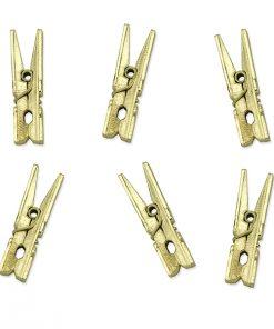 mini pinces à linge -marque place dorée