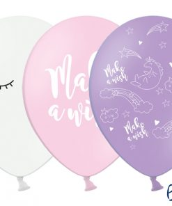ballons imprimés collection licorne