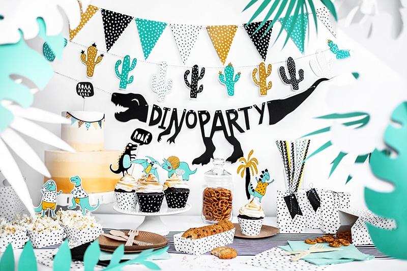 décoration anniversaire dinosaure