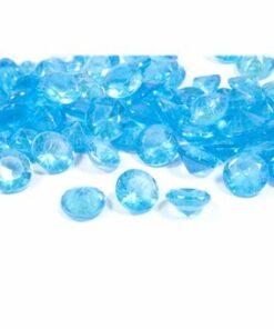 diamant turquoise decoration table