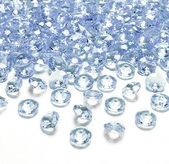diamants bleu ciel