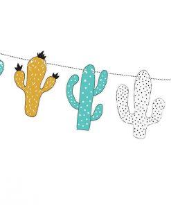 decoration anniversaire cactus dinosaure