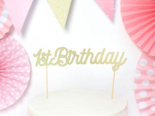 pic 1st birthday doré