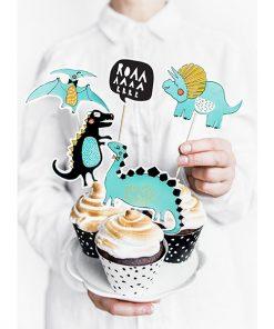 decoration gateau anniversaire dinosaure