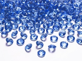 diamants bleu roi
