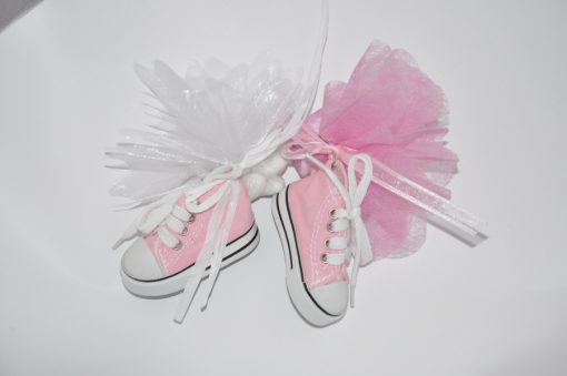 basket rose porte cles dragees
