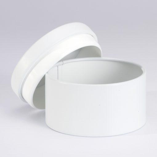 boite-ronde-metallique- dragees blanche