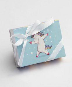 boite à dragées licorne