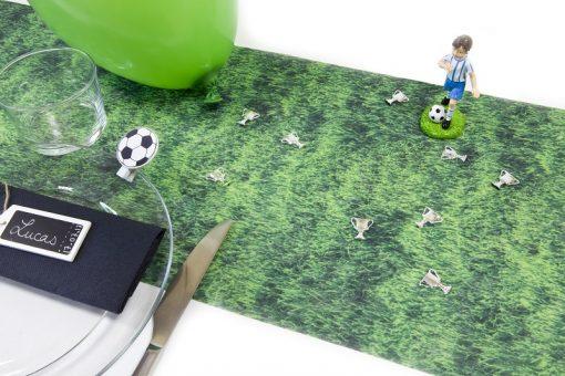 chemin de table pelouse