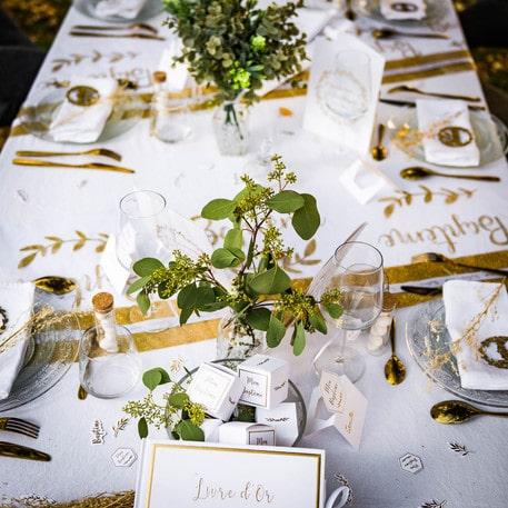 Boite à dragées Baptême - décoration table