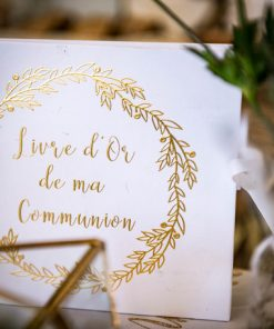 Livre d'or communion