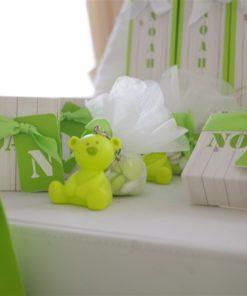 dragées vert anis ourson