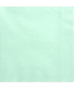 Serviette papier aqua menth