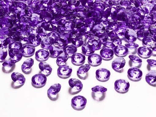 Diamant strass violet