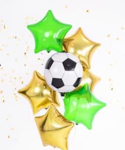 Ballon mylar forme ballon de foot