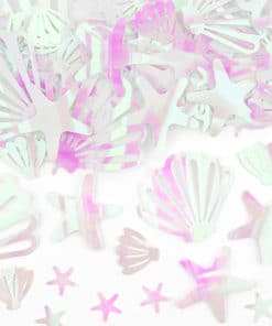 Confettis coquillage sirene