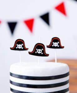 Bougie pirate deco pirate