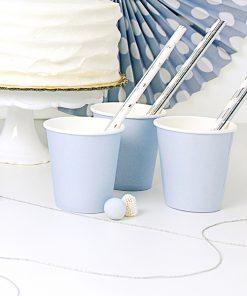 Gobelet bleu pastel