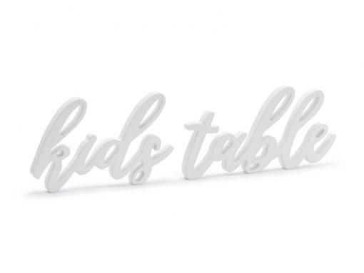 Deco table enfant mariage