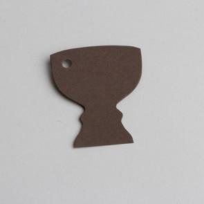 etiquette calice chocolat