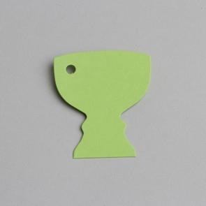 etiquette calice vert