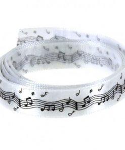 ruban satin musique