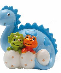 Tirelire dinosaure bapteme anniversaire