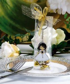 dragees communion fille - porte clés