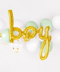 decoration baby shower garcon ballon boy