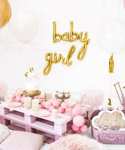 Ballon baby shower baby