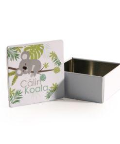 boite a dragees koala en metal