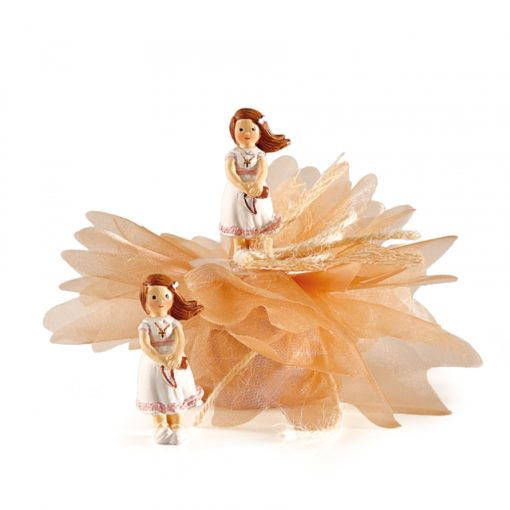 dragees communion fille figurine