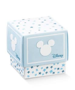 "Dragee Mickey ""Etoiles"" - Cube fleur"