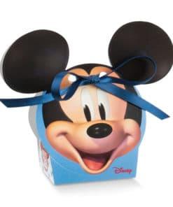 """Boite à dragées Mickey """"Go"""" Tête de Mickey"""