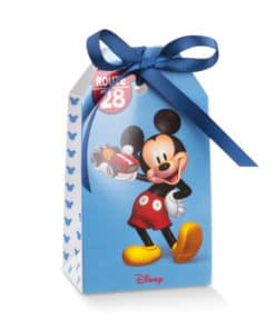 "Boite à dragées Mickey ""Go"" Etui"