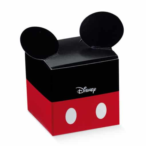 "Dragee Mickey ""Rouge et Noir"" Cube"