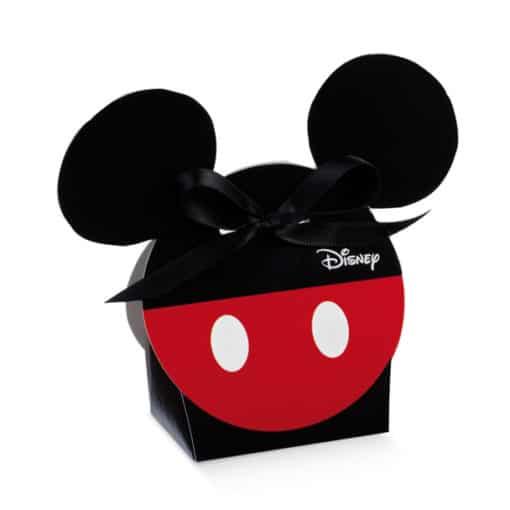 """Dragee Mickey """"Rouge et Noir"""" Tête de Mickey"""