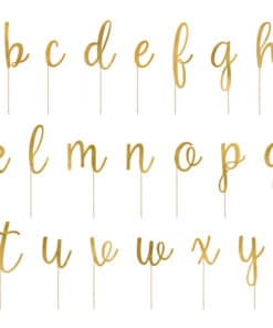 pic gateau alphabet or