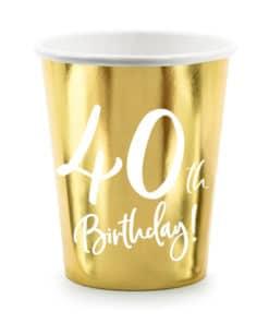 gobelet anniversaire 40 ans