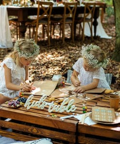 activité enfant mariage