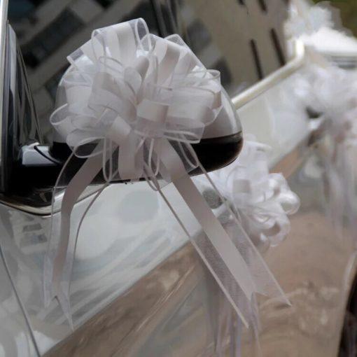 noeud voiture blanc