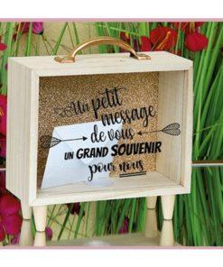 urne-en-bois-un-petit-message-de-vous un grand souvenir pour nous