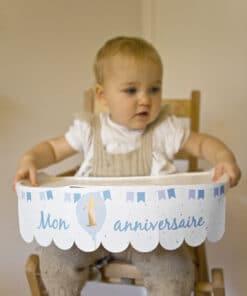 Dco chaise haute anniversaire 1 an