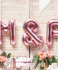 Msc Ballon & rose gold