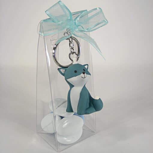 Msc porte clés bleu